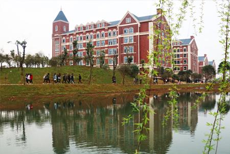湖南电子科技职业学院 校园一角