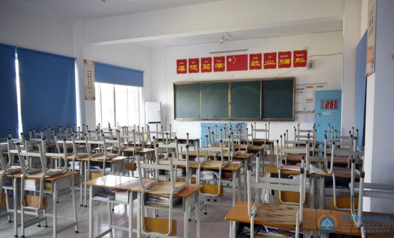 湖南华科技工学校教室